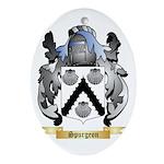 Spurgeon Oval Ornament