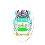 Spurett Oval Car Magnet