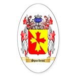 Spurdens Sticker (Oval 50 pk)