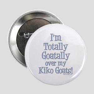 """Kiko Goats Goatally 2.25"""" Button"""
