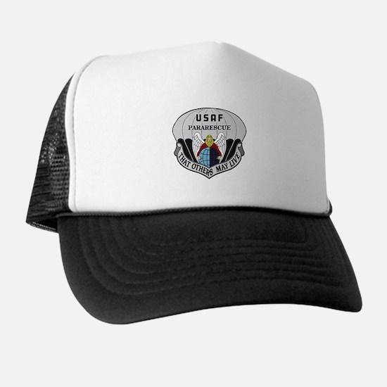 Unique Mh 60 pave hawk Trucker Hat