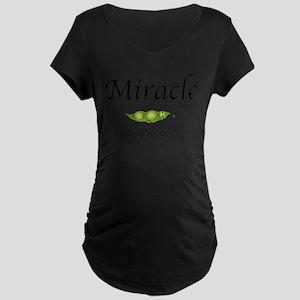 Miracle In Progress Dark Maternity T-Shirt