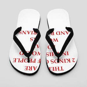postal worker Flip Flops
