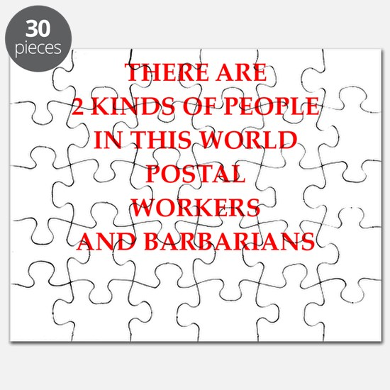 postal worker Puzzle
