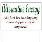 Alt Energy Yard Sign