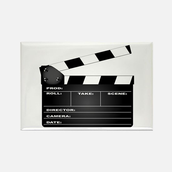 Funny Movie director Rectangle Magnet