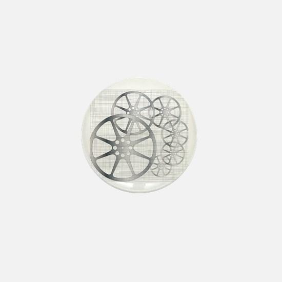 Unique Reel Mini Button