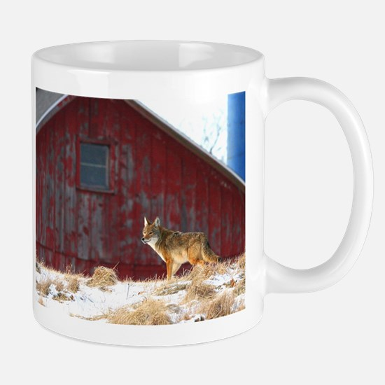 coyote barn Stainless Steel Travel Mugs