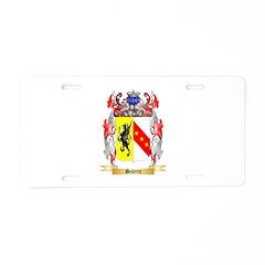 Sztern Aluminum License Plate