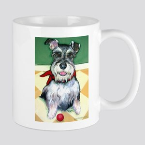 Schnauzer & Red Ball Mug