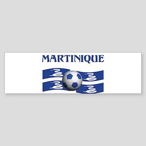 TEAM MARTINIQUE WORLD CUP Bumper Sticker
