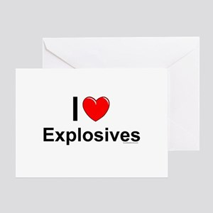 Explosives Greeting Card