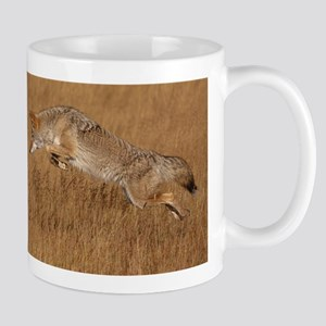 Coyote Flying Stainless Steel Travel Mugs