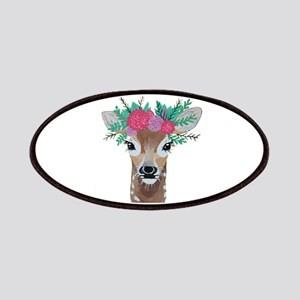 Fawn with Flower Crown Patch