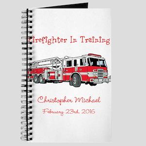 Firefighter in Training Journal