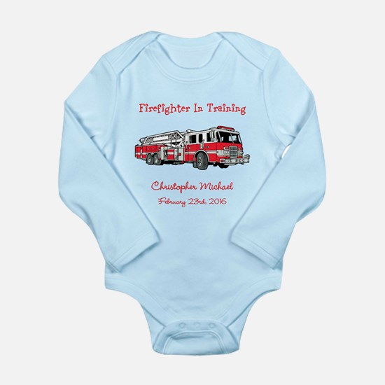 Firefighter in Training Body Suit