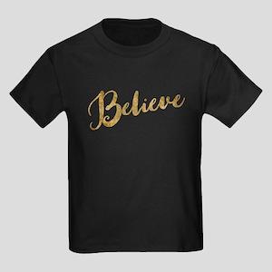 Gold Look Believe T-Shirt