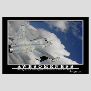 Awesomeness Motivational Poster - Large