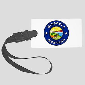 Missoula Montana Large Luggage Tag