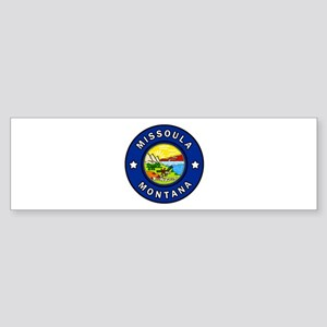 Missoula Montana Bumper Sticker
