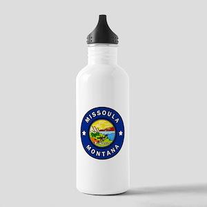 Missoula Montana Stainless Water Bottle 1.0L