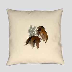 Equine Woods Everyday Pillow