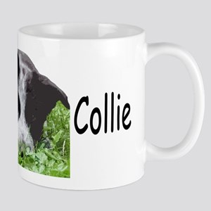 border collie albert grass Mugs