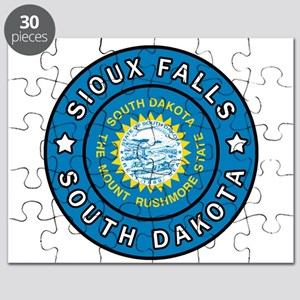 Sioux Falls South Dakota Puzzle