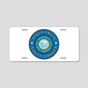 Sioux Falls South Dakota Aluminum License Plate