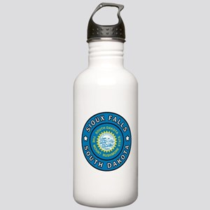 Sioux Falls South Dako Stainless Water Bottle 1.0L