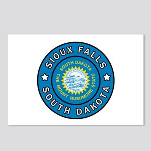 Sioux Falls South Dakota Postcards (Package of 8)