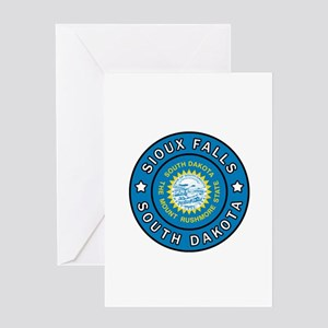 Sioux Falls South Dakota Greeting Cards