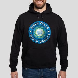 Sioux Falls South Dakota Hoodie (dark)