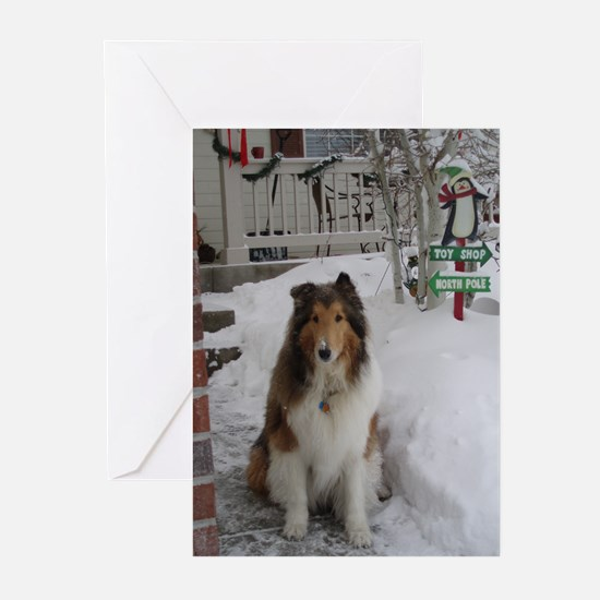 Toy Shop/North Pole Greeting Cards