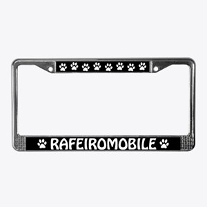 Rafeiro do Alentejo License Plate Frame