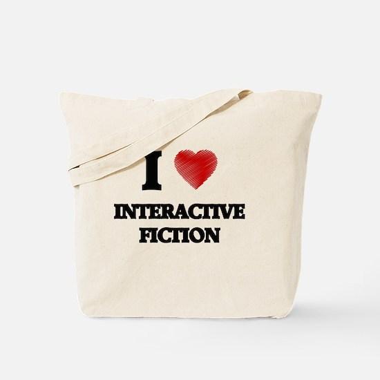 I Love Interactive Fiction Tote Bag