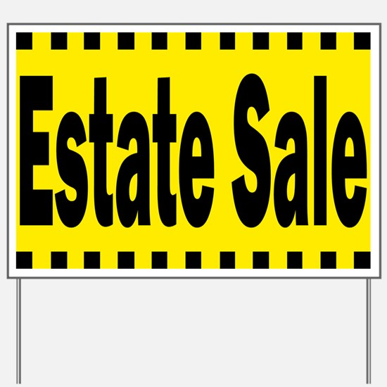 Estate Sale Yard Sign