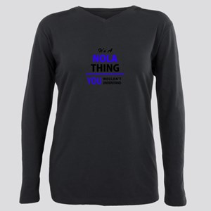 It's NOLA thing, you wou Plus Size Long Sleeve Tee