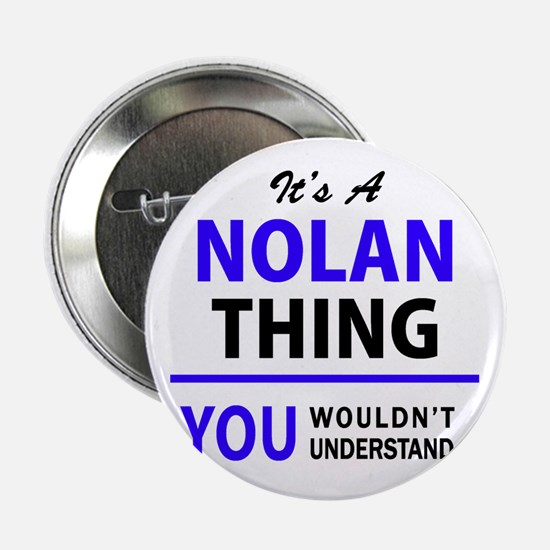 """It's NOLAN thing, you wouldn't unders 2.25"""" Button"""