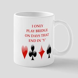 duplicate bridge Mugs