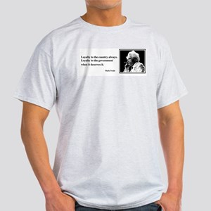 Twain on Loyalty Light T-Shirt