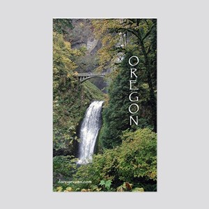 Oregon - Multnomah Rectangle Sticker