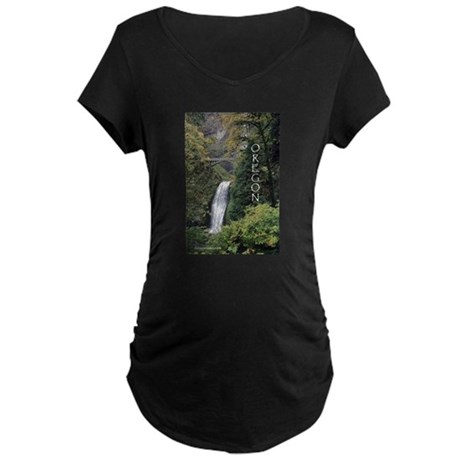 Oregon - Multnomah Maternity Dark T-Shirt