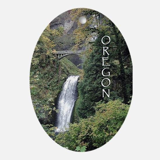 Oregon - Multnomah Oval Ornament