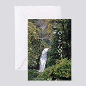 Oregon - Multnomah Greeting Card