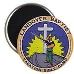 Bible Gun Camp Magnet
