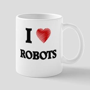 I Love Robots Mugs