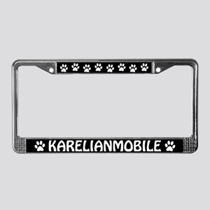 Karelian Bear Dog License Plate Frame