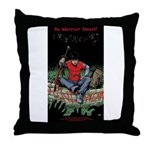 Be Warrior Smart Throw Pillow