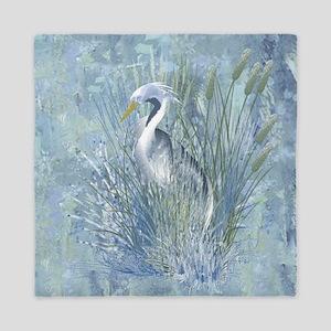 Heron Elegance Queen Duvet